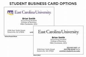 Upg design samples for Student business card examples