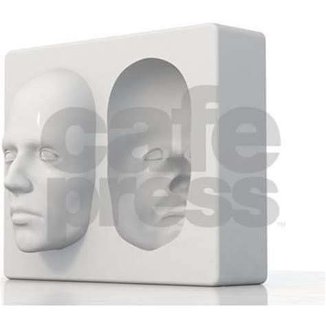 The illusion exploits our brain's strategy for making sense of the visual world: Hollow-face illusion,artwork Picture Frame by Science-Photo-Library - CafePress
