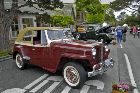 1949 willys jeepster 1949 willys jeepster history pictures sales value