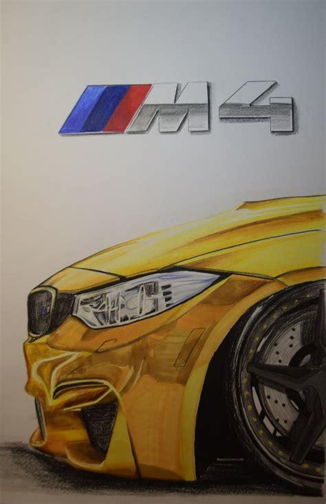 bmw  detail munich car drawing munich car drawing