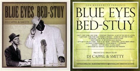 blue meets bed stuy the notorious b i g frank sinatra blue meets bed