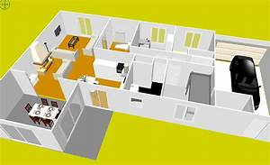 plan de maison a etage gratuit With good plan maison gratuit 3d 14 telecharger sweet home 3d 5 6