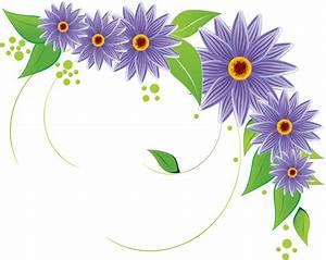 Frames & png: flower vectors various (12)