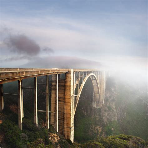 Bridge Bid Bixby Bridge Big Sur California Usa Photo On Sunsurfer
