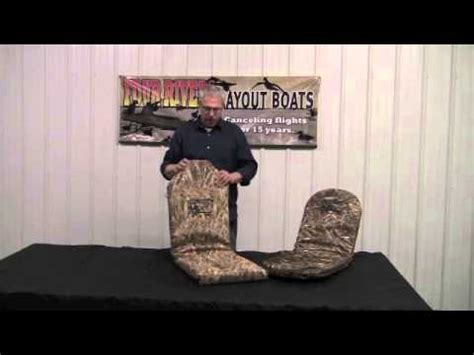 Layout Boat Seat by Four Rivers Layout Boats New B A R Seat