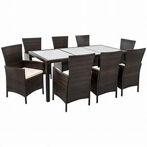 Gartenmöbel Polyrattan Set : rattan sitzgarnitur braun grau polyrattan gartenm bel set ~ Watch28wear.com Haus und Dekorationen