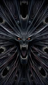 Horror Monster Illustration iPhone 6 Wallpaper HD