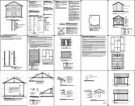 12 X 20 Barn Shed Plans by Shed Plans 12 X 20 Free Timber Sheds The Distinct
