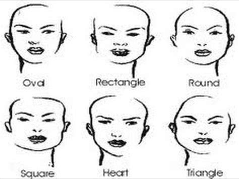 The Perfect Hairstyle For YOUR Face Shape.   YouTube