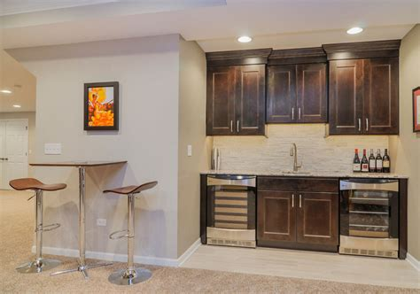 Small Kitchen Shelving Ideas - 45 basement kitchenette ideas to help you entertain in style home remodeling contractors