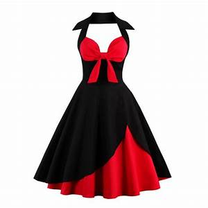 women dress plus size summer clothing 2017 retro swing With robe pin up vintage