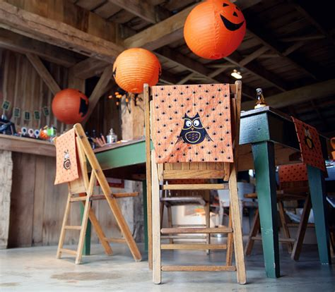 Host a Halloween party with lots of tricks and treats