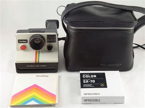 polaroid land onestep polaroid sx 70 land onestep white rainbow with
