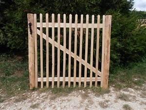 Portillon Brico Depot : portillon bois sur mesure poteau portail alu amaranthes ~ Voncanada.com Idées de Décoration