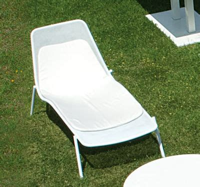 chaise emu cushion for chaise longue for sun lounger grey by emu