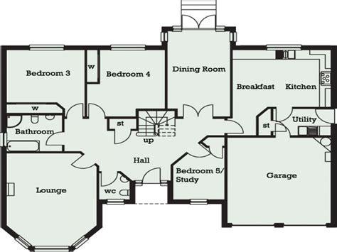 bungalow floorplans 5 bedroom bungalow in 5 bedroom bungalow floor plans