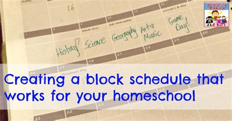 Creating A Block Schedule For Homeschooling Timetable For Life Upsc 2018 Mains Batch C Stream 2 Diploma Ssc Board Exam Trains From Dublin To Belfast Hsc November