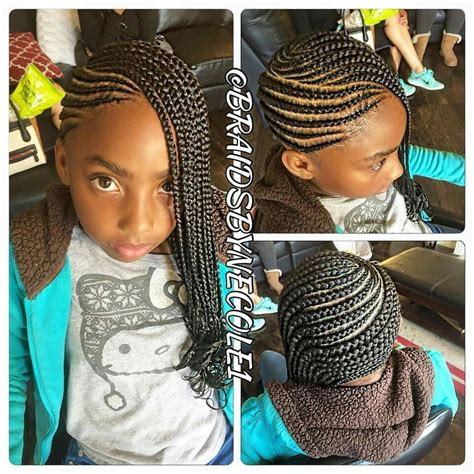 side braid style easy hair braids for children in 2019