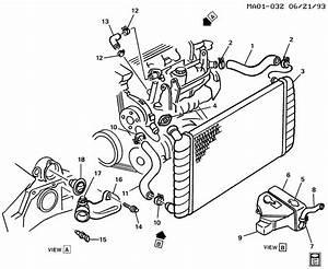 10182356 - Gm Hose  Engine Coolant By