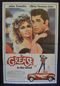 All About Movies - Grease 1978 movie poster One Sheet John ...