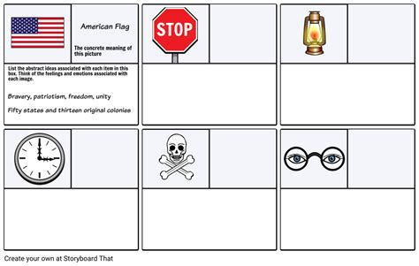 exle worksheet 1 abstract thinking storyboard