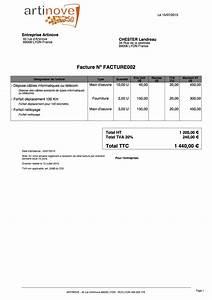 Auto Entreprise 2016 : modele facture d 39 acompte auto entrepreneur ~ Medecine-chirurgie-esthetiques.com Avis de Voitures