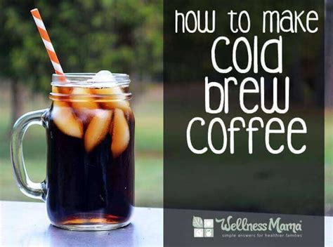 When the caffeine is removed like it is in decaf coffee, the coffee does not have the psychoactive stimulant qualities that it did before. Cold Brew Coffee Recipe (Easy and Delicious)   Wellness Mama
