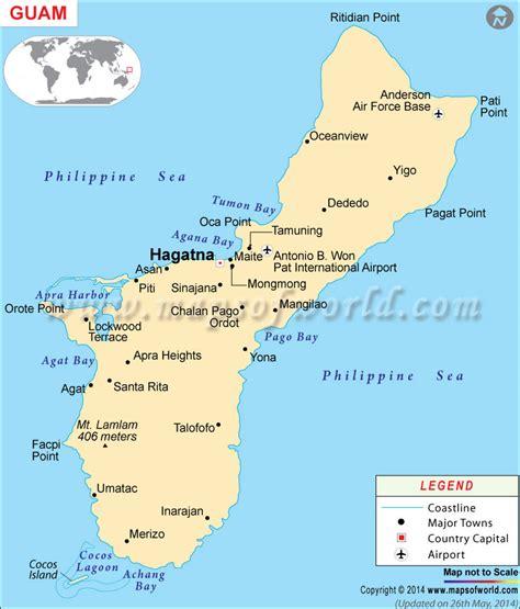mapa de guam mapa de paises pinterest