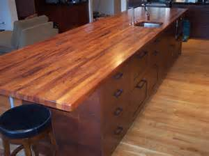 butcher block kitchen island ideas mesquite custom wood countertops butcher block