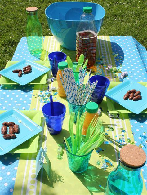 idee de deco de table pour  anniversaire de garcon