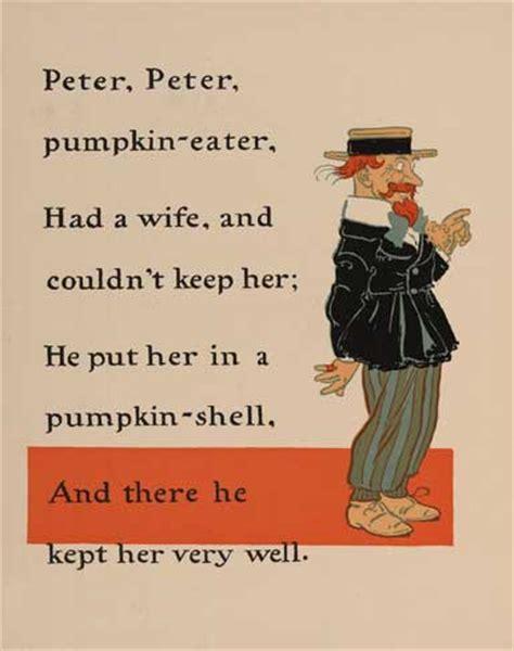 Cheater Cheater Pumpkin Eater Poem file peter peter pumpkin eater 1 ww denslow project