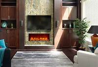 built in electric fireplace Dynasty 35-In Built-In Electric Fireplace - DY-BT35