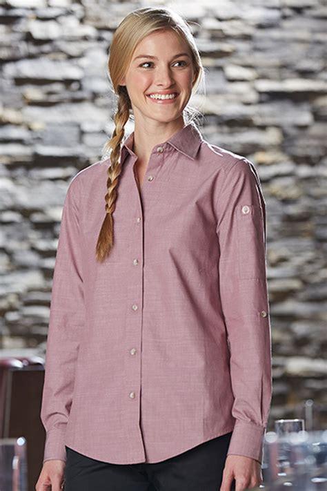 Womens Chambray Shirt | ChefWorks.com
