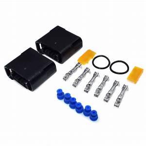 2x Ignition Coil Wire Harness Connector Terminal Plug Set For Subaru Impreza