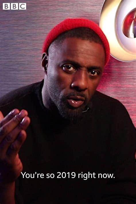 BBC Three - Idris Elba's motivational speech | Facebook