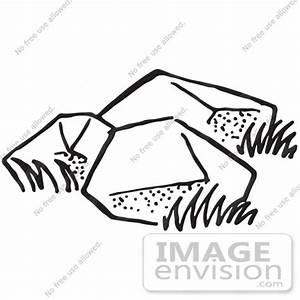 Rock Black And White Clipart - Clipart Suggest