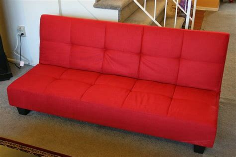 Klik Klak Loveseat by Microfiber Adjustable Back Klik Klak Sofa Futon Bed