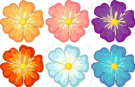 Picture Of Cartoon Flowers
