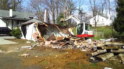 Small House Demolition Youtube