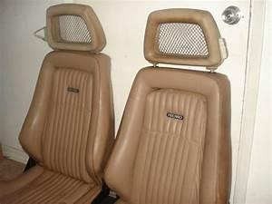 1984 Trans Am Recaro Seats  Nice