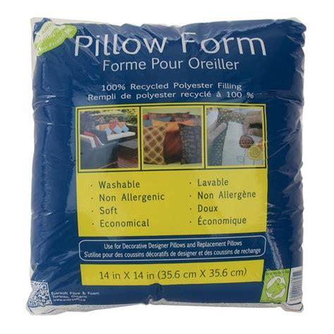 walmart pillow forms 14 quot pillow form walmart ca