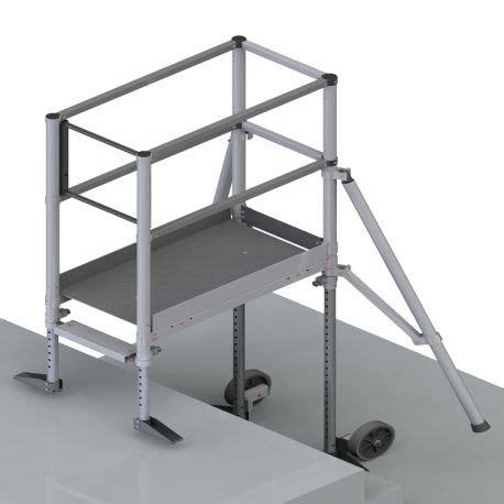 la cuisine töpfe pfe et pfe c plateformes en aluminium sp 233 ciales escalier