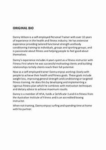 personal biography template playbestonlinegames With personal bio template free