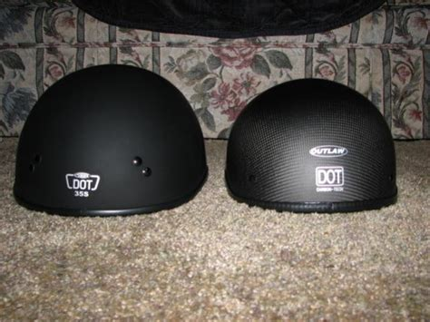 Low Profile Dot Helmet?
