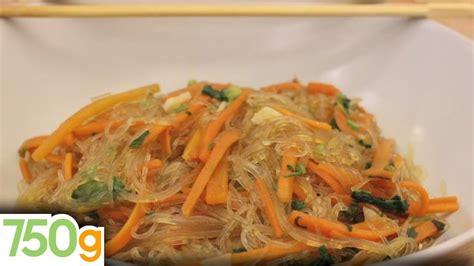 cuisiner vermicelle de riz recette de carottes sautées aux vermicelles 750 grammes