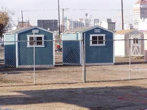 fresno homeless moved into tool sheds indybay