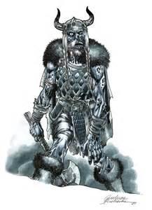 Zombie Viking Drawings