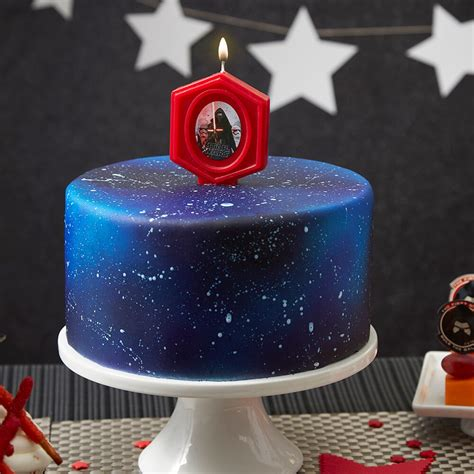 cake wars star space wilton birthday galaxy fondant stars outer recipes pan spray amazon party wlproj fans candle 2105 decorating