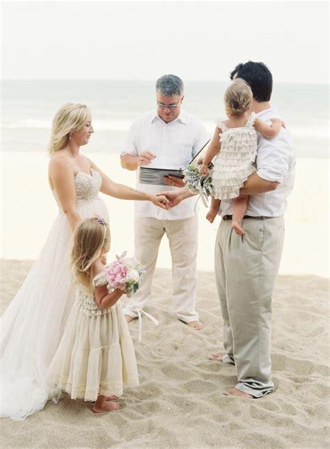 sweetest atlantic coast family vow renewal beach