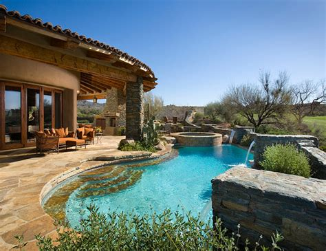 Southwest Style By Rnet Custom Homes  Southwestern